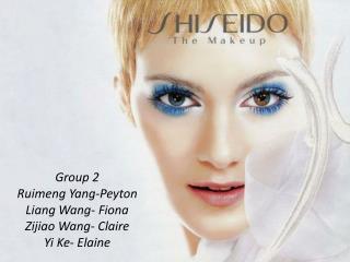 Group 2 Ruimeng  Yang-Peyton Liang Wang- Fiona Zijiao Wang- Claire Yi  Ke - Elaine