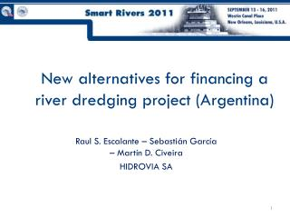 New alternatives for financing a river dredging project (Argentina)
