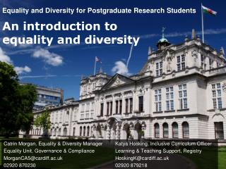 Equality and Diversity for Postgraduate Research Students
