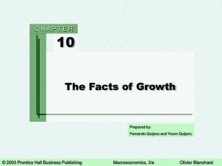 The Facts of Growth