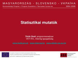 Statisztikai mutatók