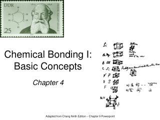Chemical Bonding I: Basic Concepts