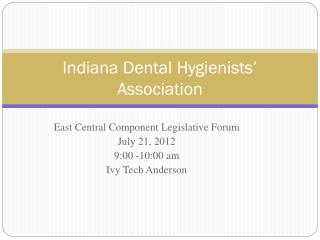 Indiana Dental Hygienists' Association
