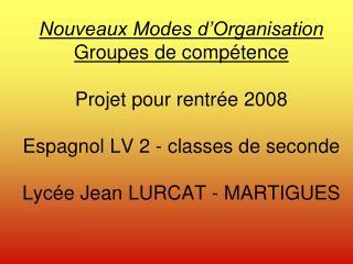 G C = Groupe de compétence Un groupe de compétence est un groupe d'élèves qui va