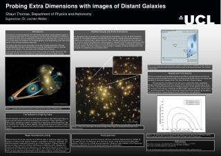 Probing Extra Dimensions with images of Distant Galaxies