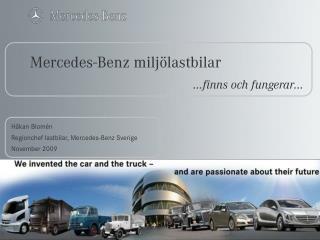 Mercedes-Benz milj�lastbilar