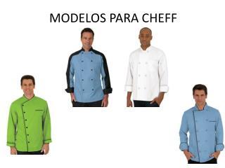 MODELOS PARA CHEFF