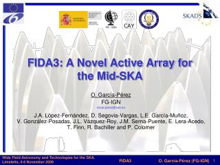FIDA3: A Novel Active Array for the Mid-SKA