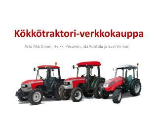 K�kk�traktori-verkkokauppa