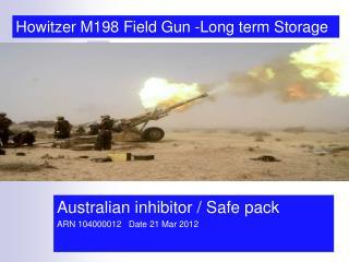 Australian inhibitor / Safe pack  ARN 104000012   Date 21 Mar 2012