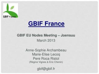 GBIF France