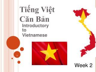 Tiếng Việt  Căn Bản