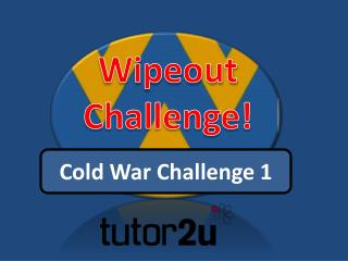Wipeout Challenge!