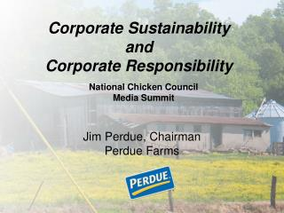 Corporate Sustainability and Corporate Responsibility