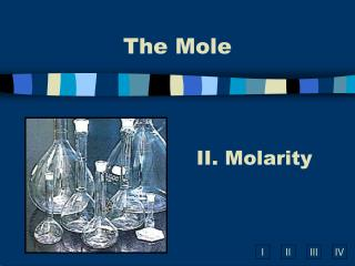 II. Molarity