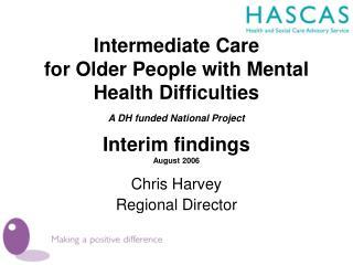 Chris Harvey Regional Director