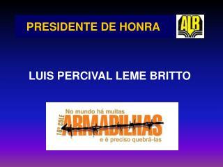 PRESIDENTE DE HONRA