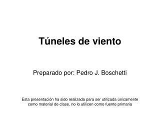 Túneles de viento