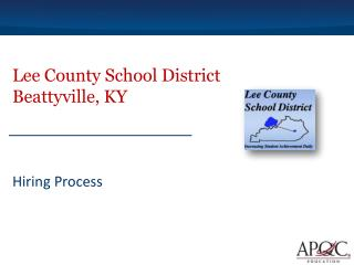 Lee County School District Beattyville, KY