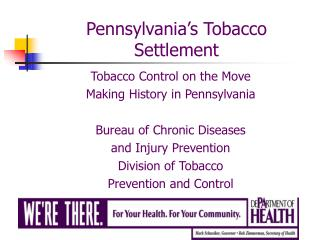 Pennsylvania�s Tobacco Settlement