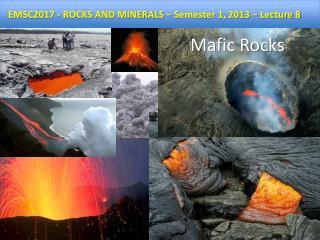 Mafic  Rocks