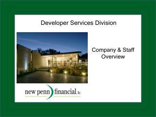 Developer Services Division