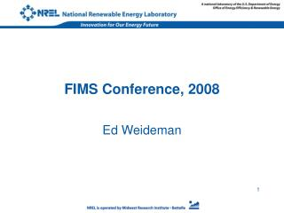FIMS Conference, 2008
