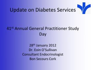 Diabetes service development