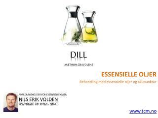 Essensielle oljer dill