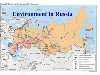 Environmental issues in former Soviet bloc