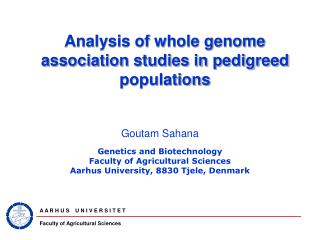 Analysis of whole genome association studies in pedigreed populations