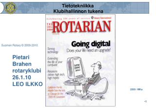 Pietari  Brahen rotaryklubi 26.1.10 LEO ILKKO