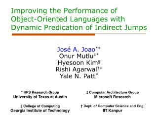 Improving the Performance of Object-Oriented Languages with Dynamic Predication of Indirect Jumps
