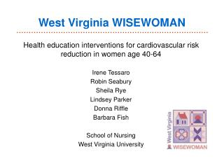West Virginia WISEWOMAN