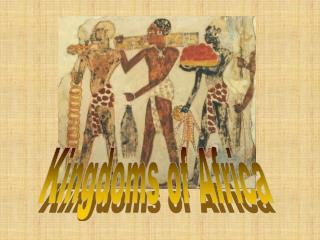 Africa: 600 C.E. to 1450 C.E.