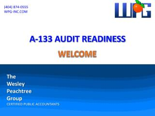 A-133 AUDIT READINESS