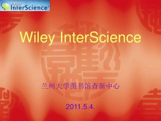 Wiley InterScience