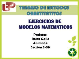 TRABAJO DE METODOS CUANTITATIVOS