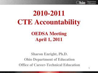 2010-2011  CTE Accountability