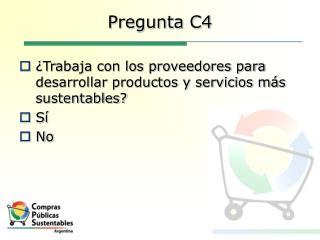 Pregunta C4