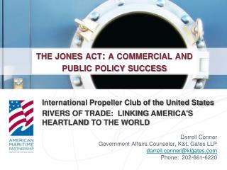 the jones act :  a  commercial and public policy success