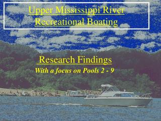 Upper Mississippi River Recreational Boating