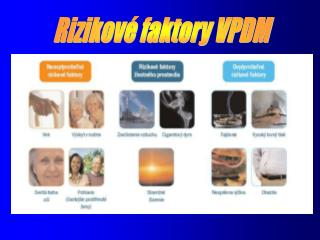 Rizikové faktory VPDM