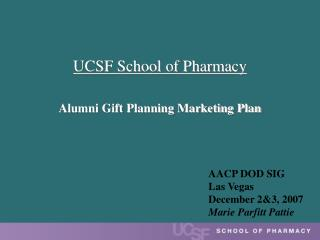 UCSF School of Pharmacy