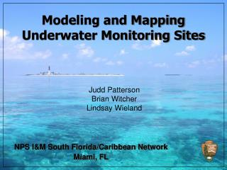 Modeling and Mapping Underwater Monitoring Sites