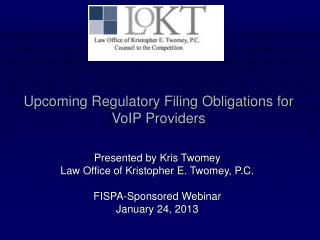 Upcoming Regulatory Filing Obligations for VoIP Providers