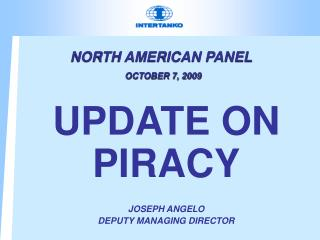 NORTH AMERICAN PANEL OCTOBER 7, 2009