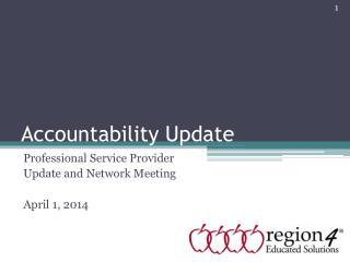 Accountability Update