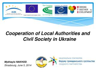 Cooperation of Local Authorities and Civil Society in Ukraine