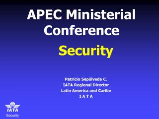 APEC Ministerial Conference